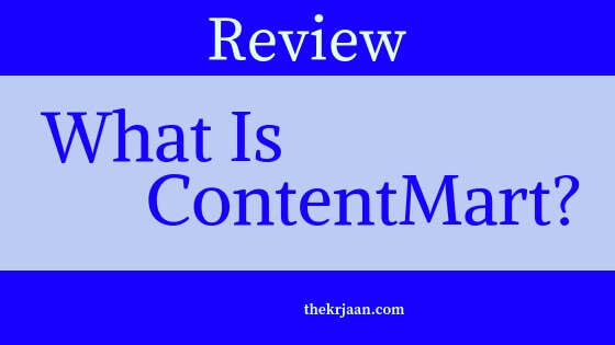 Review | What Is ContentMart And How Does It Work