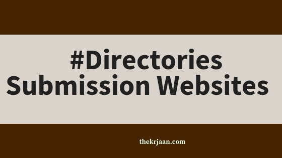 World Top Free #Directories Submission Websites For You